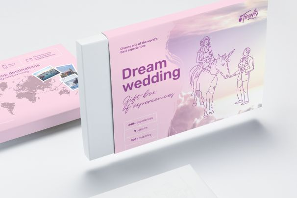 Wedding Experience Gifts: Dream Wedding Experience Gift
