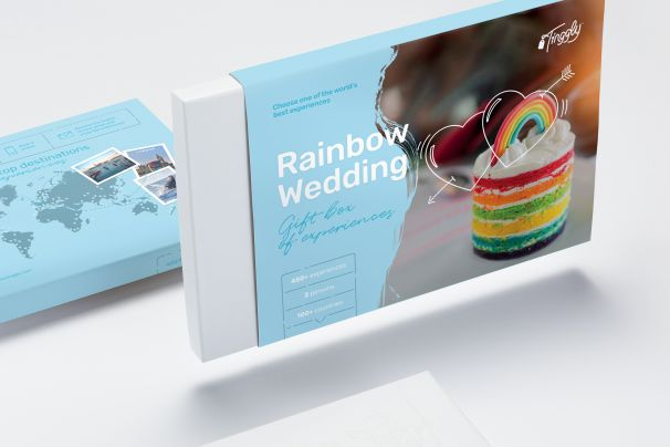 Rainbow Wedding Gift