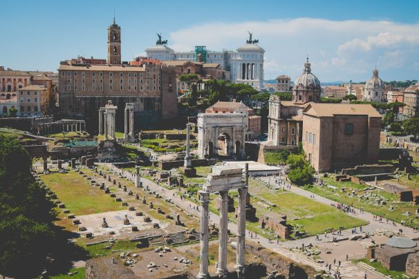Romantic Rome Stay
