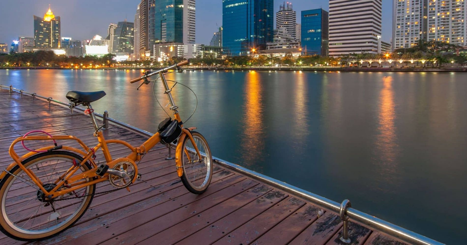 Magical Bangkok Boat & Bike Experience for Two