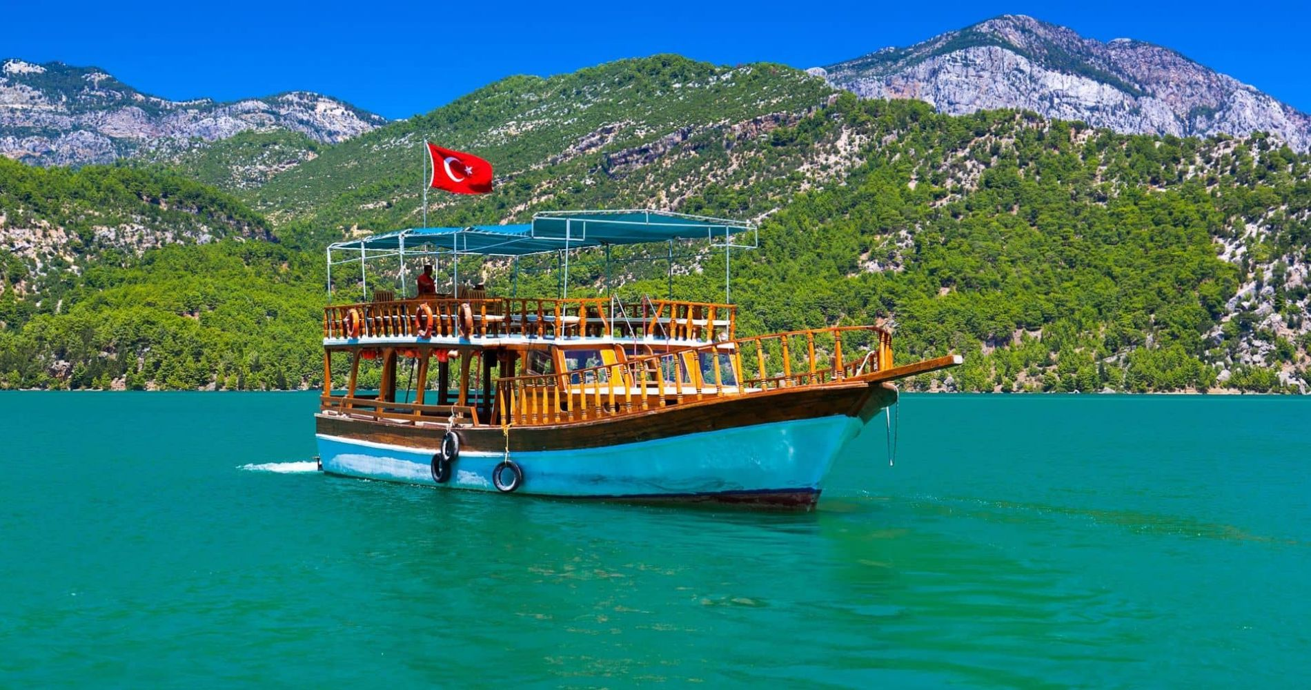 Green Canyon Boat Experience in Turkey for Two