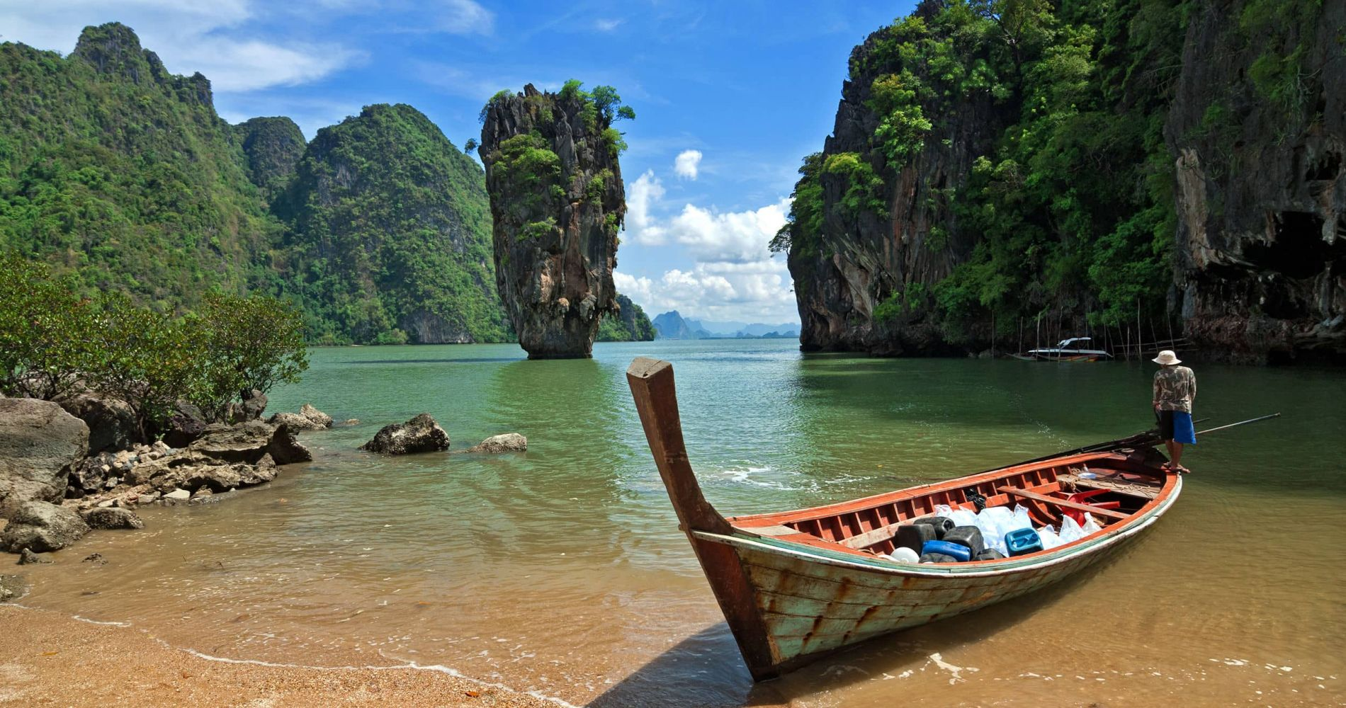 James Bond Island Sightseeing Experience for Two in Thailand