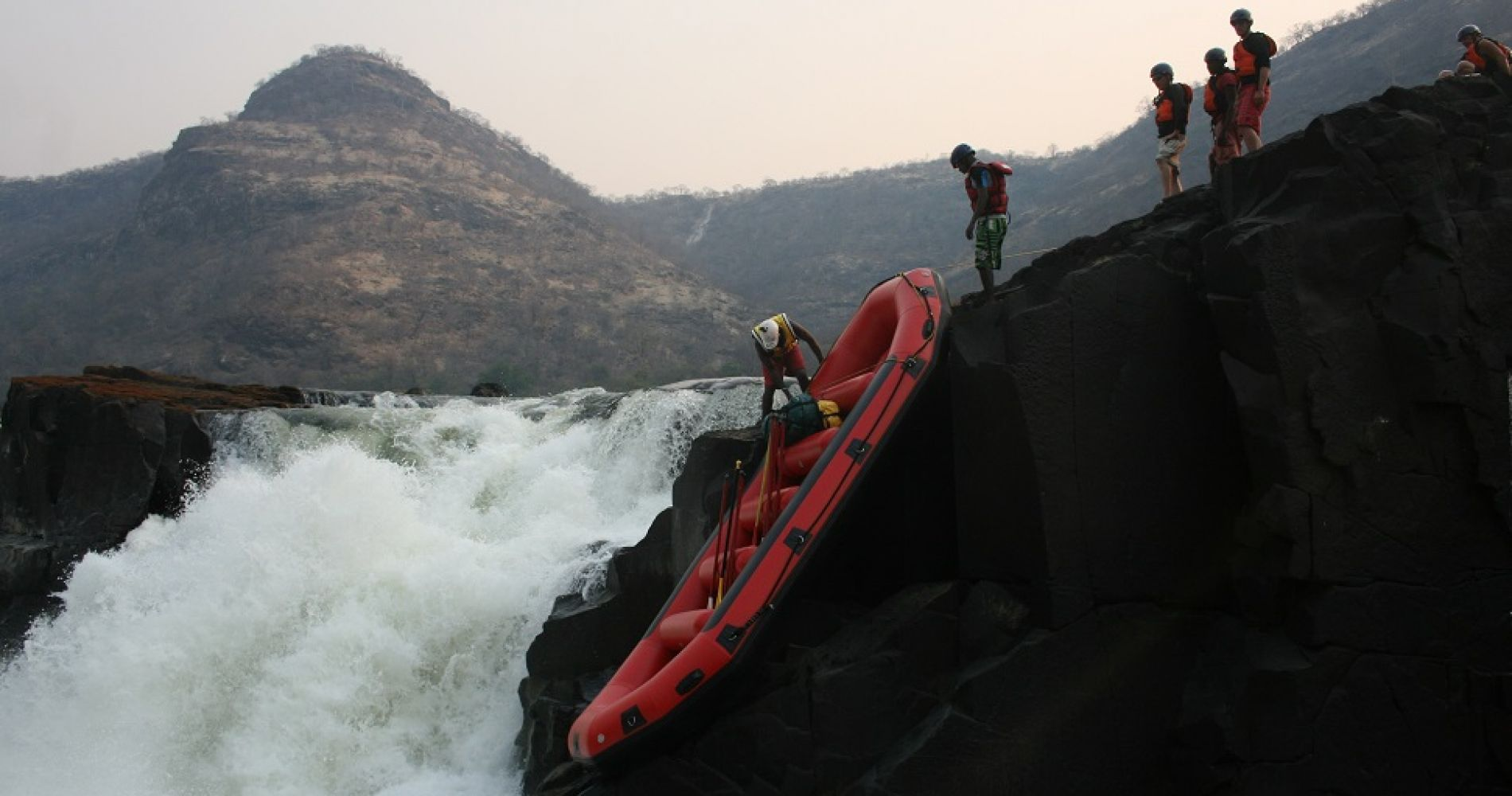 Zimbabwe Victoria Falls Whitewater Rafting experience gifts