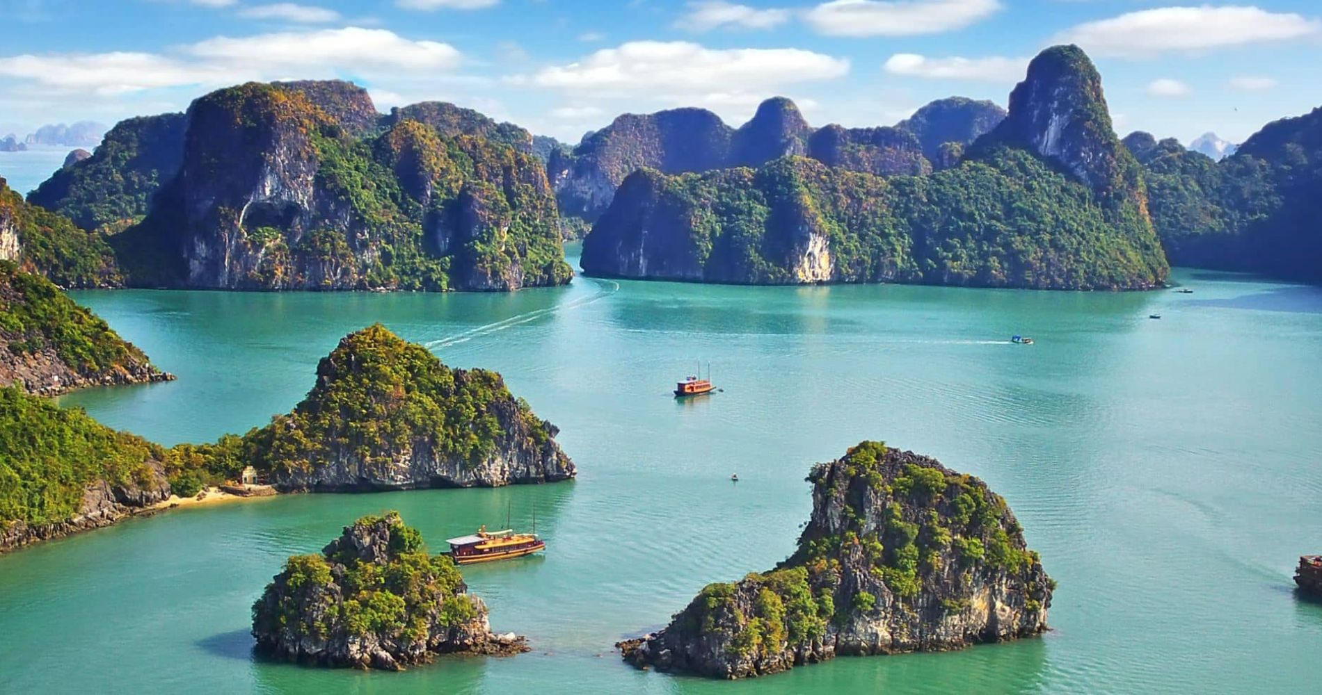 Two Day Experience around Vietnam's Halong Bay for Two