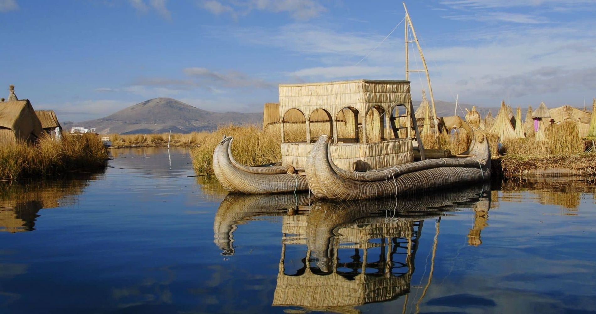 Full-Day Experience of Lake Titicaca and Uros & Taquile in Peru for Two