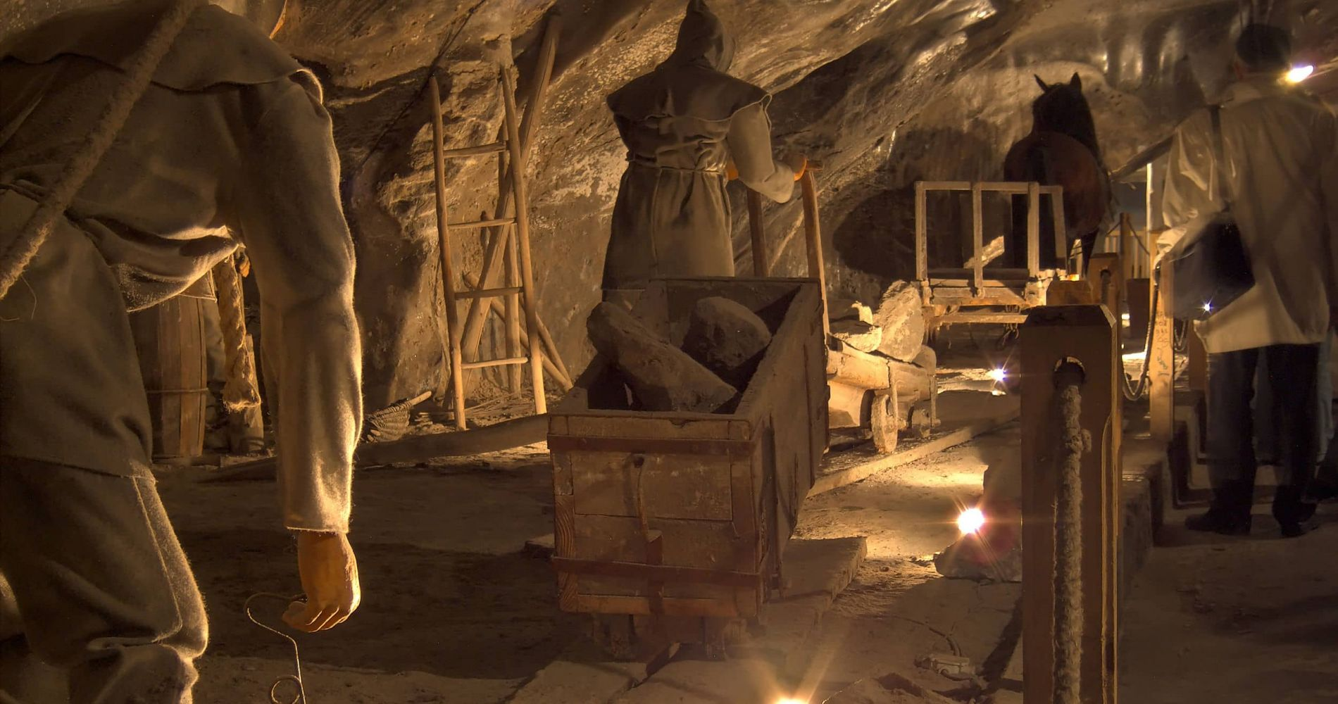 Experience of the Wieliczka Salt Mine in Poland for Two