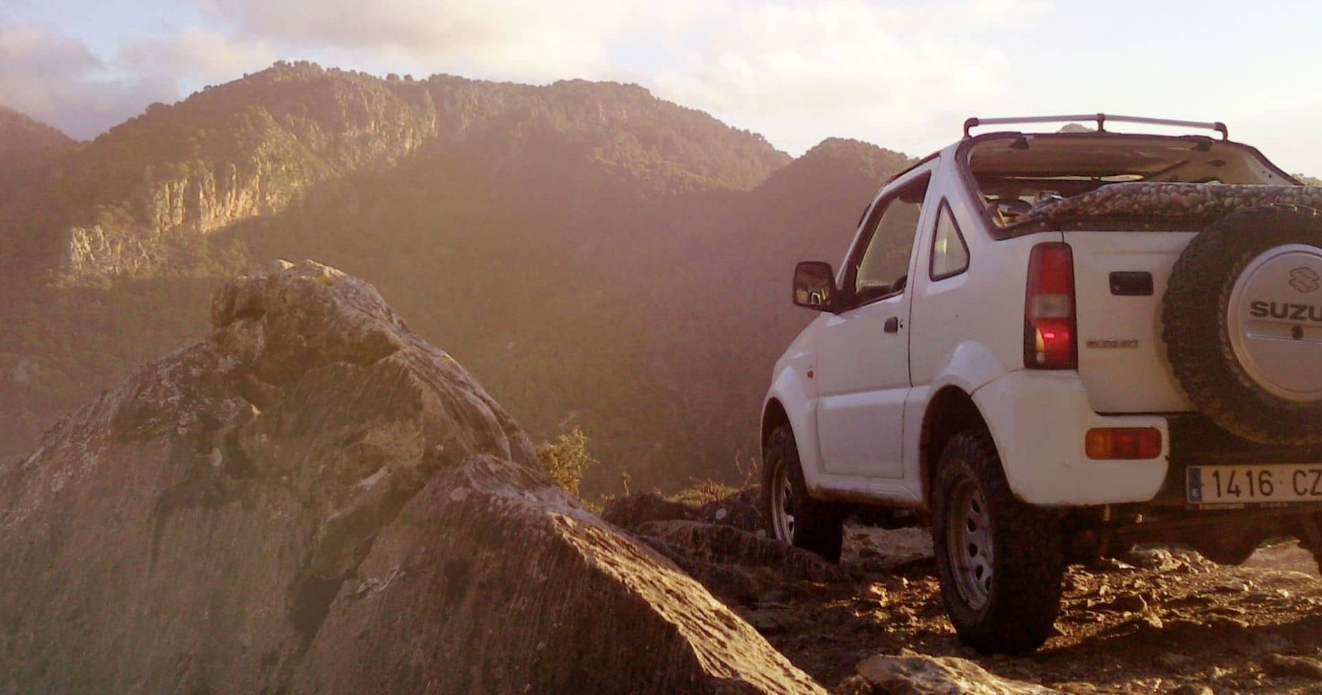 Offroad Driving in the Mountains of Mallorca