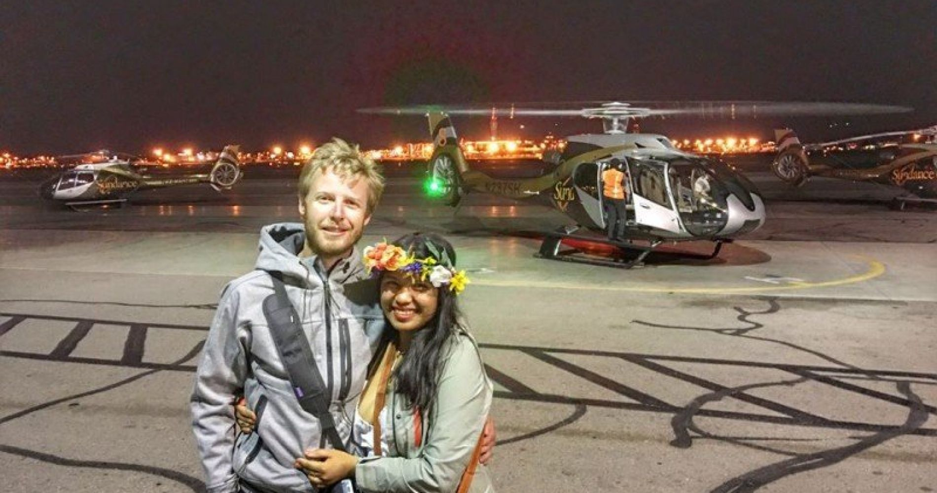 VIP Helicopter Experience Las Vegas Strip Tinggly Gift
