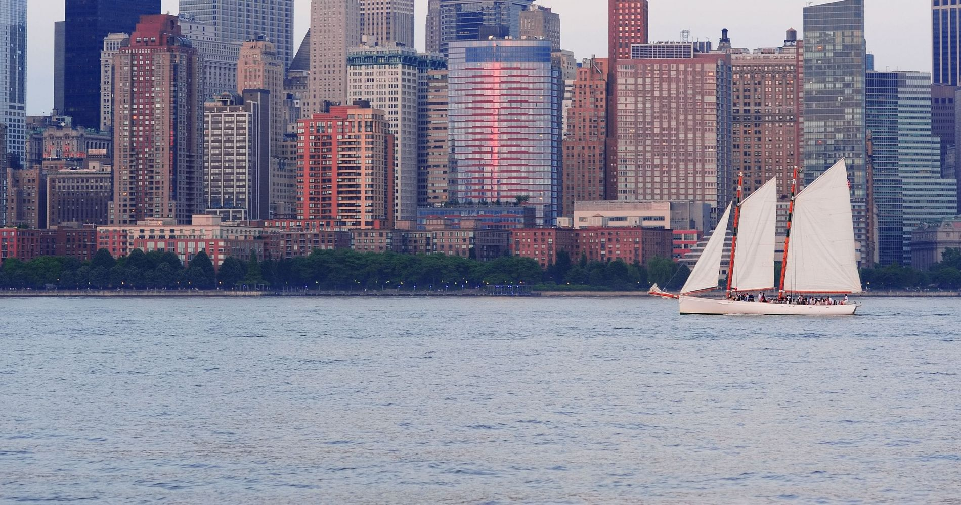 Sunset Sailing in New York