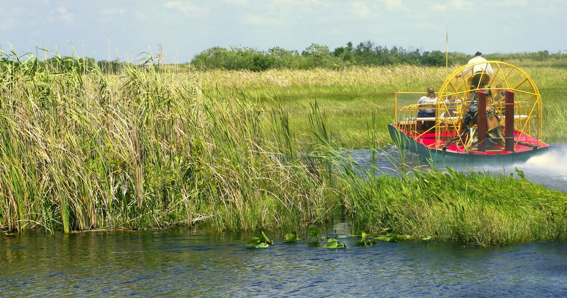 Airboat Safari Ride in Florida for Two