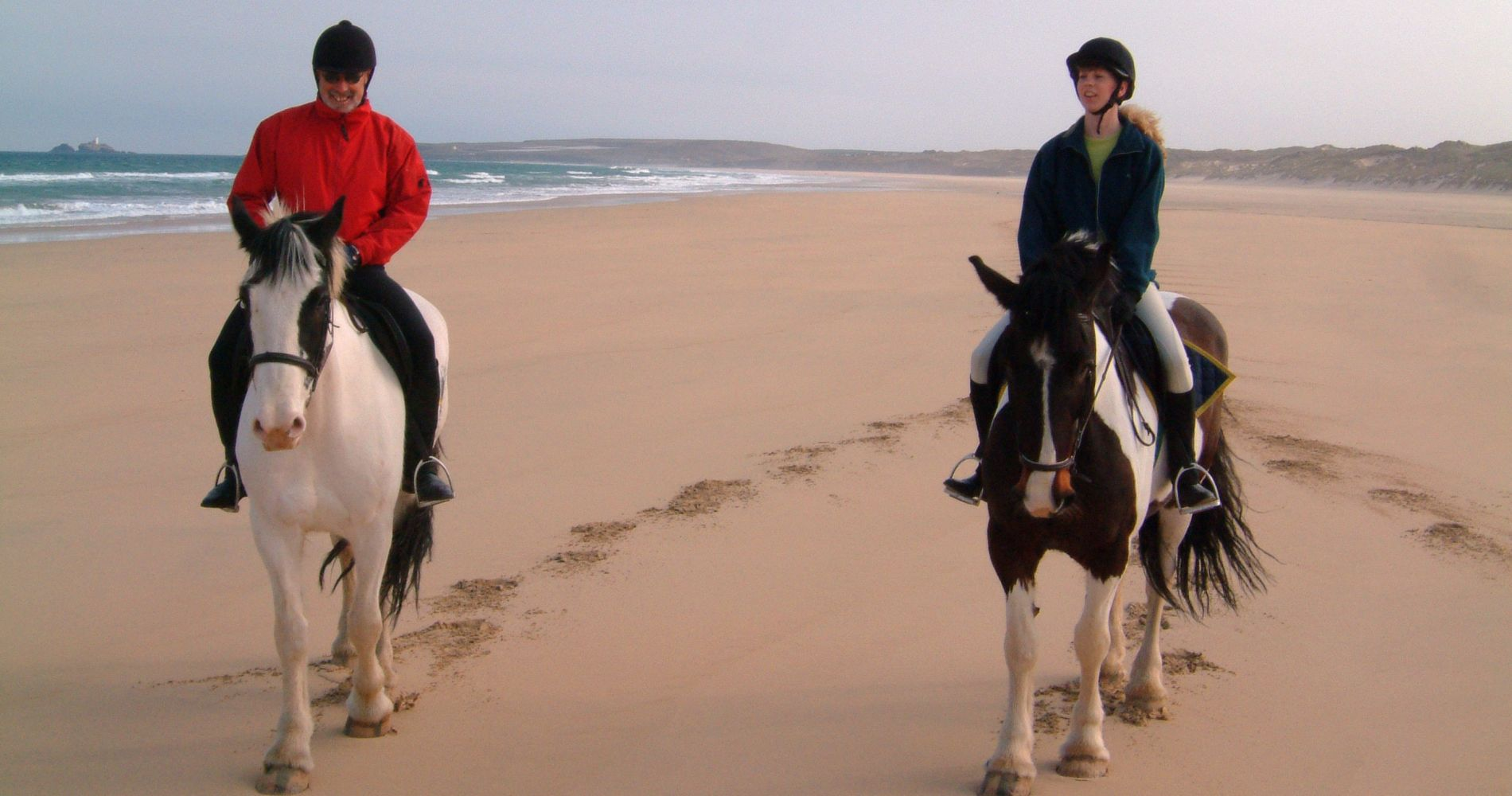 Breathtaking Ride Experience on the Beach in the United Kingdom