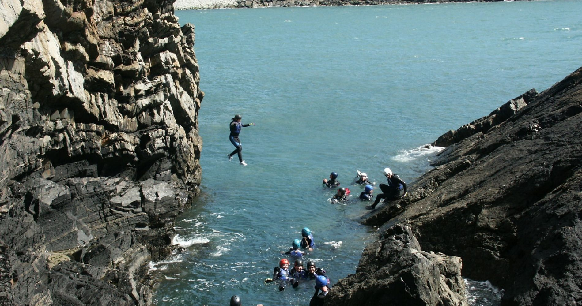 Half Day Endorphin Blaster Coasteering Adventure In United Kingdom for Two