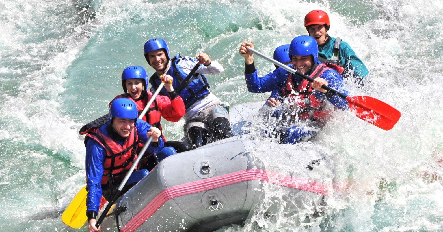 White Water Rafting United Kingdom Experience