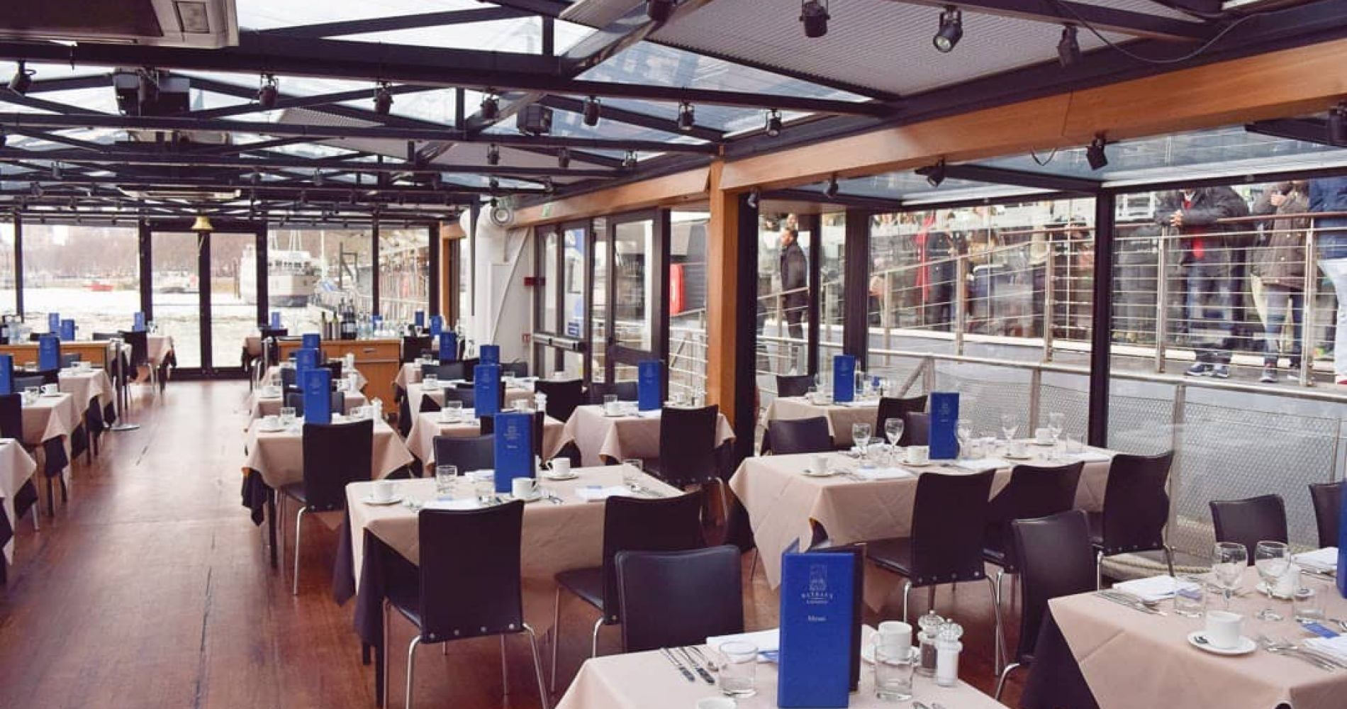 Lunch Cruise on the Thames for Two in London