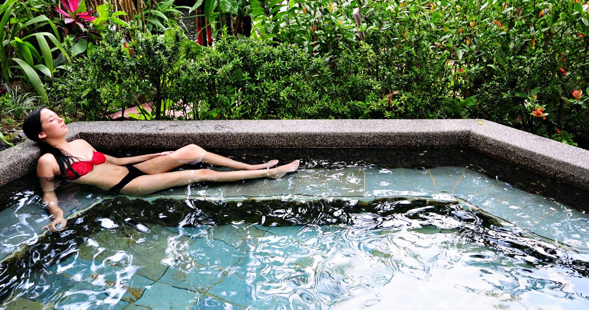 Full Day Pass to Thermal Spa in Costa Rica