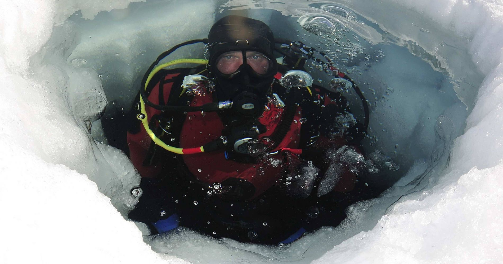 Breath-Taking Ice Diving in France