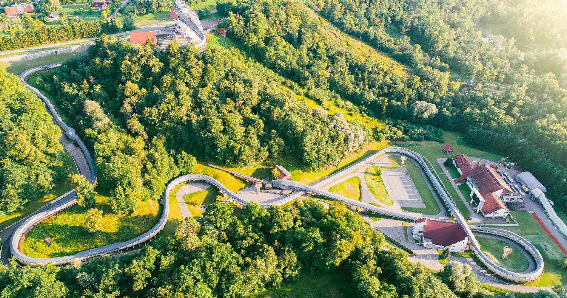 Breathtaking Bobsleigh Ride For Two in Latvia