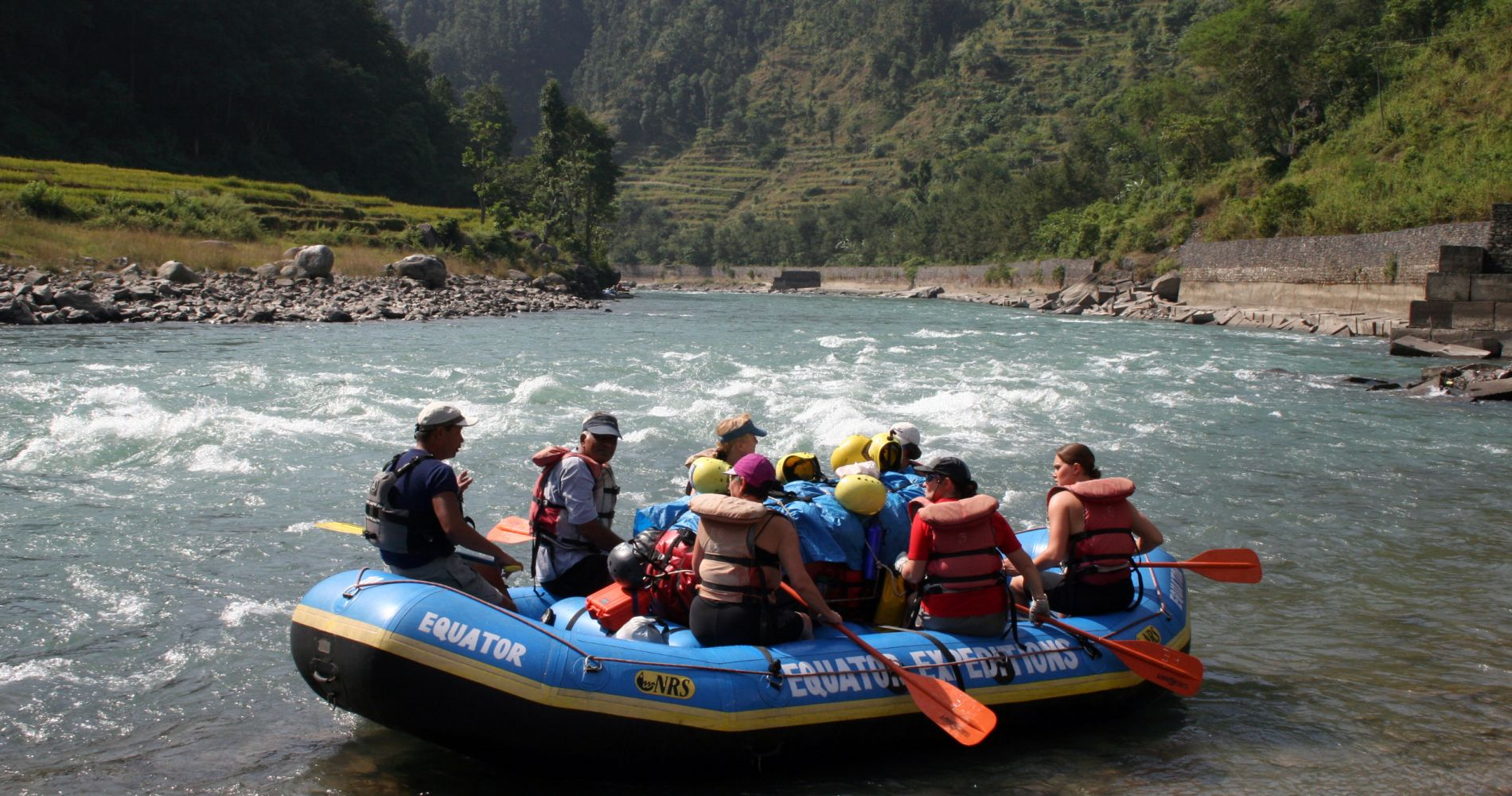 Extreme White Water Rafting in Nepal for Two