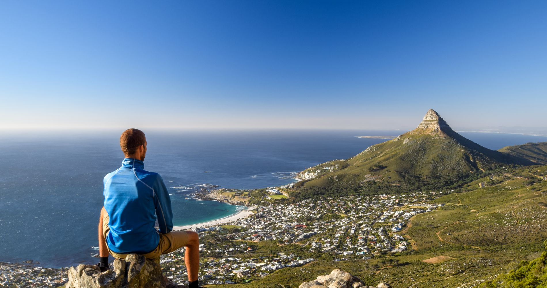 Table Mountain Hike-India Venster Route in Cape Town for Two