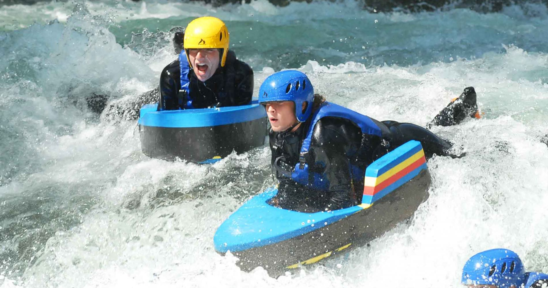 Fantastic Hydrospeed Experience for Two in Spain