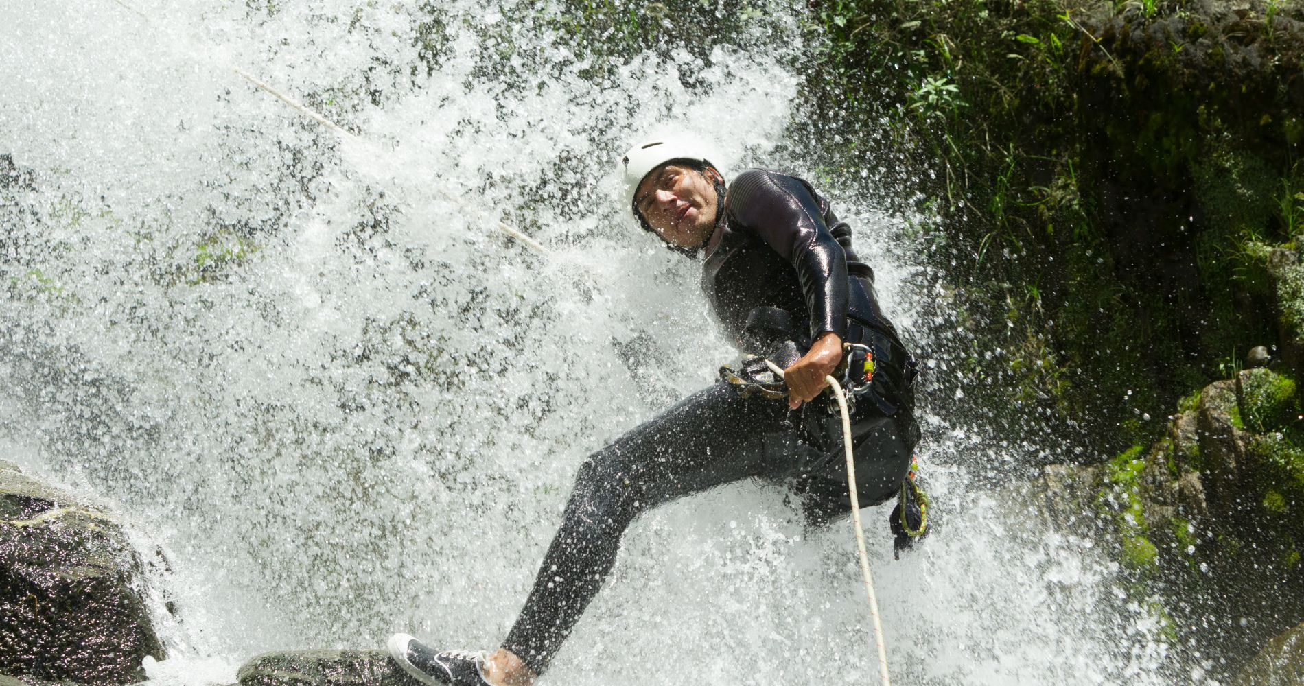 Waterfall Rappelling/Canyoning & Zipline Experience in Costa Rica