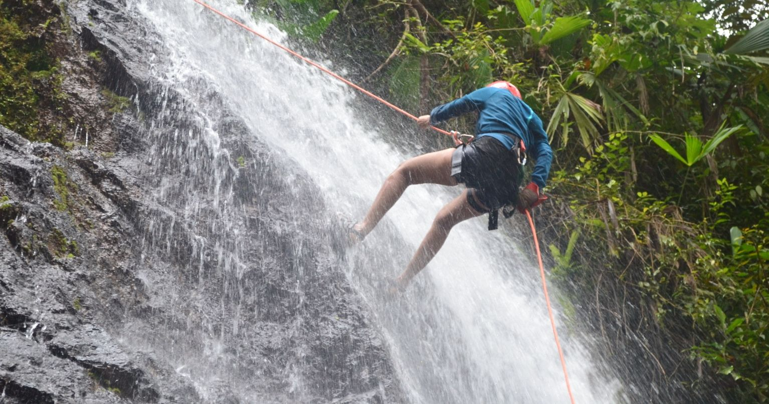 Waterfall Rappelling/Canyoning & Zipline Experience Costa Rica Tinggly Experience Gifts