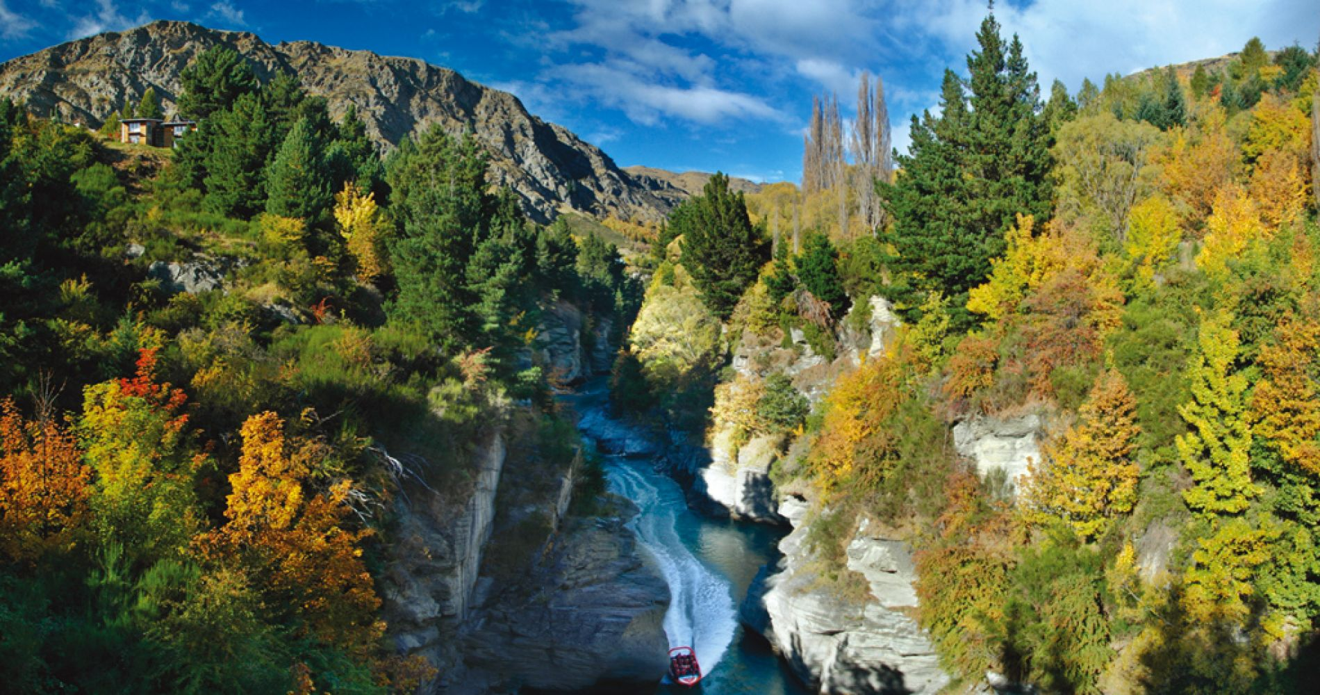 Jet Boat Experience on Shotover River Queenstown New Zealand  Tinggly Experience Gifts
