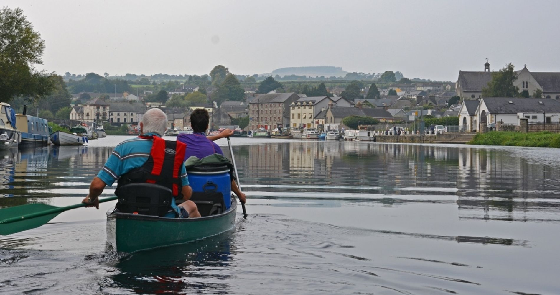 Barrow River Canoeing Wild Camping Ireland Tinggly Experience GIft