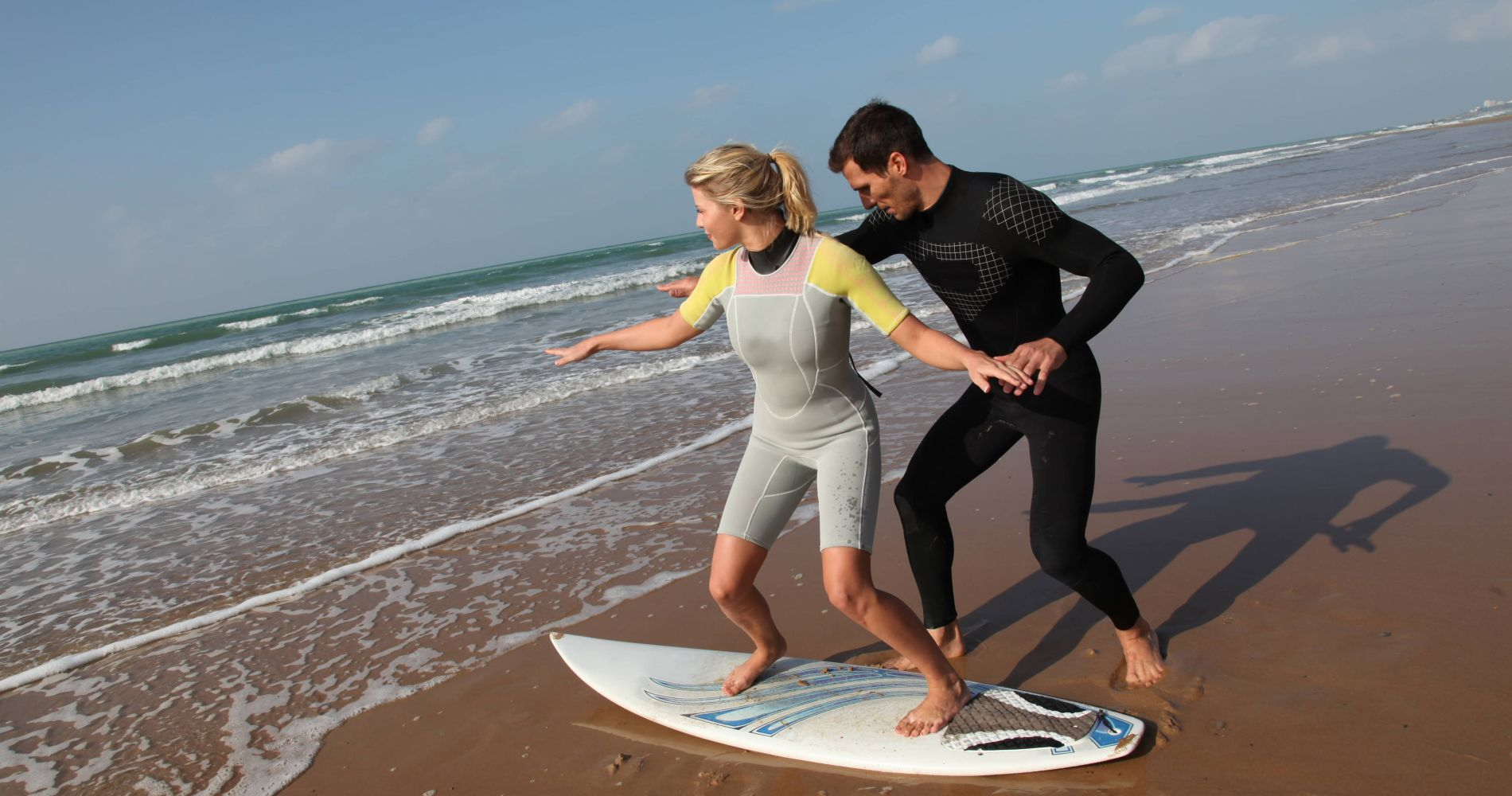 Exciting Surfing Lesson for Couples in Gran Canaria