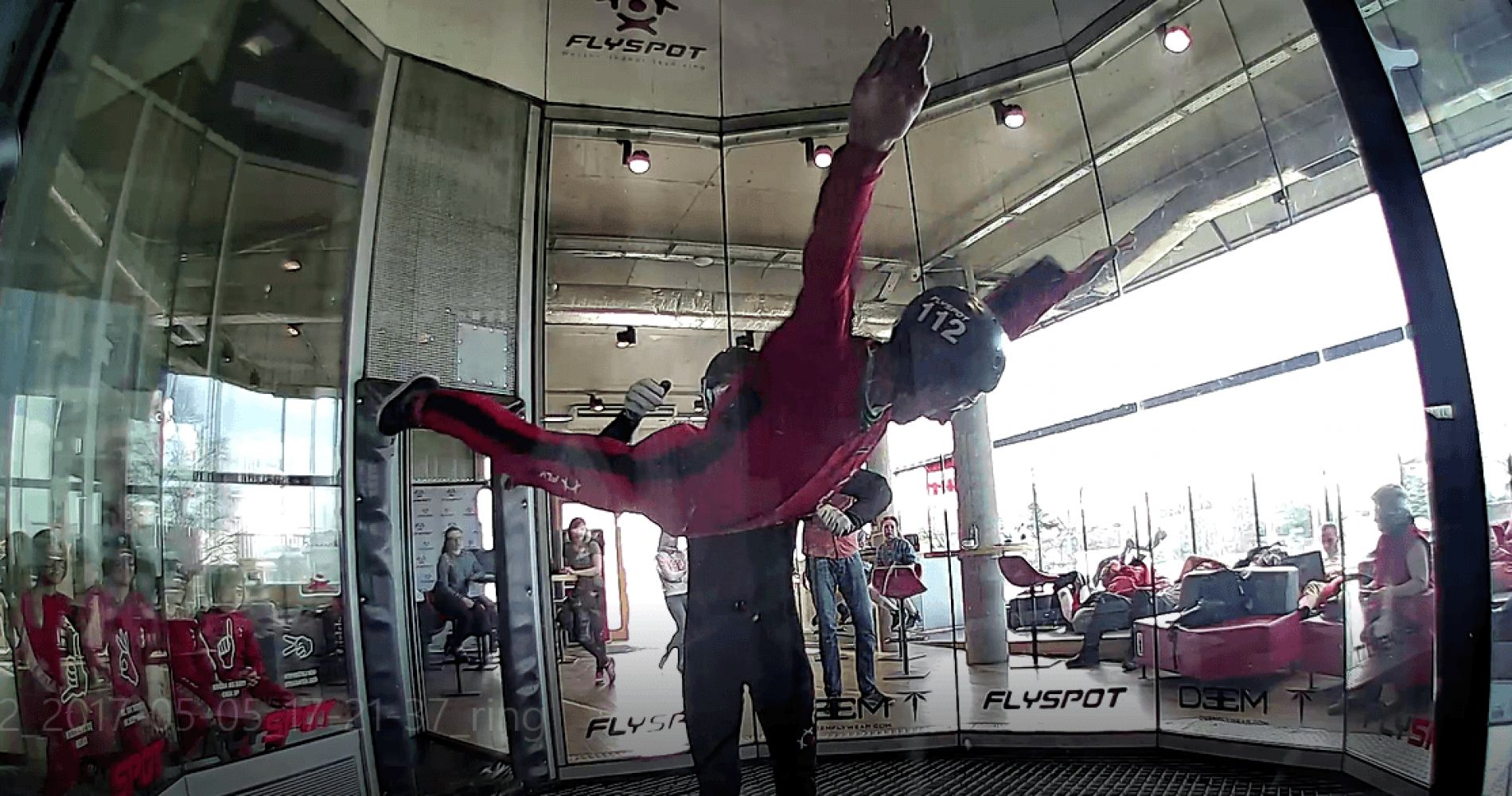 Flight Wind Tunnel Warsaw Tinggly Experience Gifts