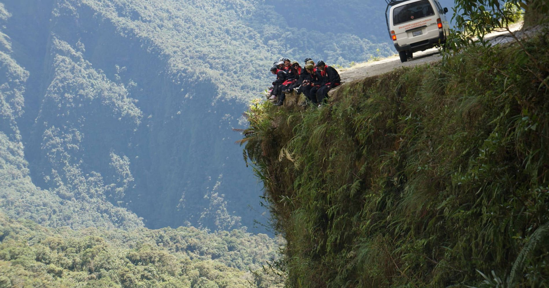 Mountain Biking down The World's Most Dangerous Road in Bolivia