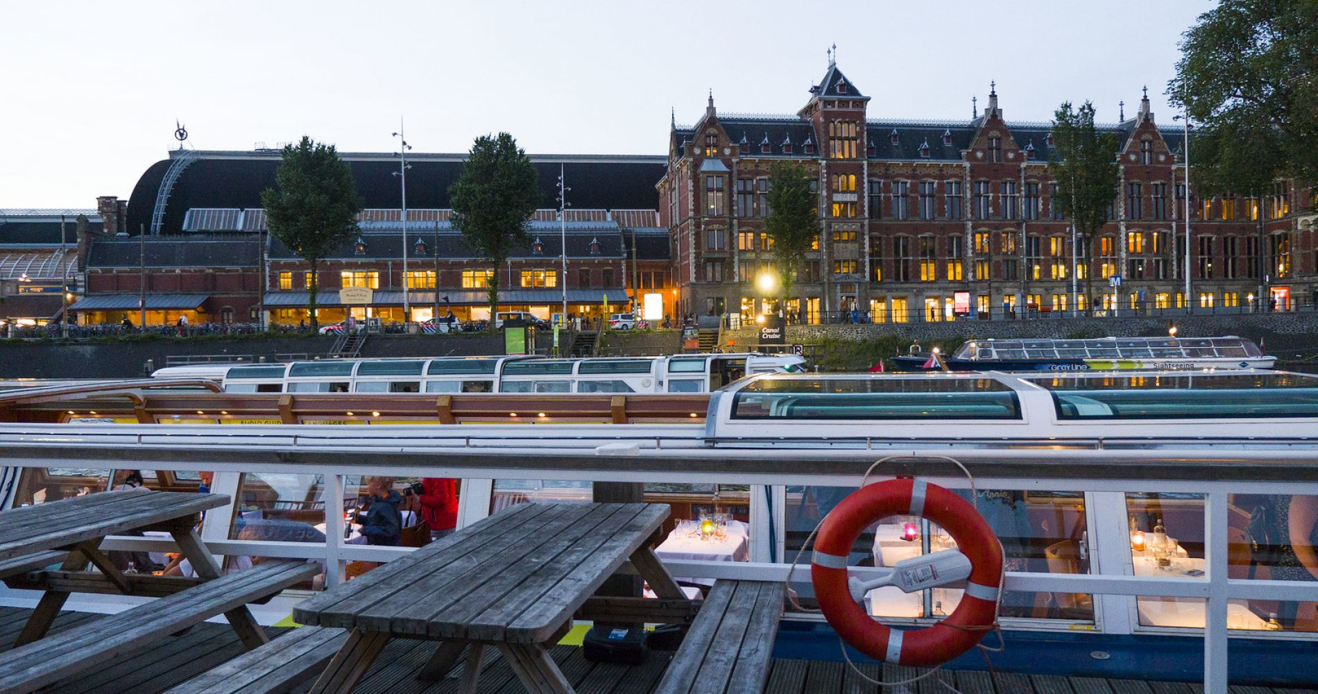 Amsterdam Evening Cocktail Cruise for Two