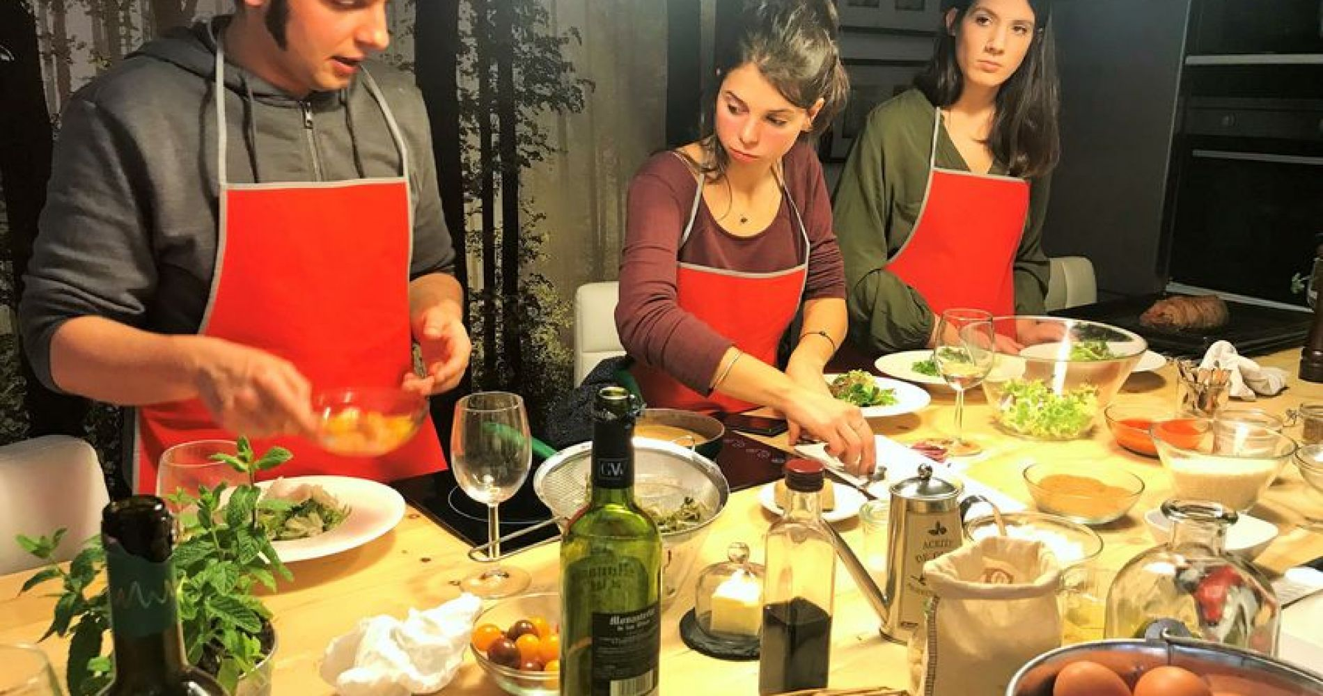 Catalan Cuisine Food Experience and Cooking Class in Barcelona for Two