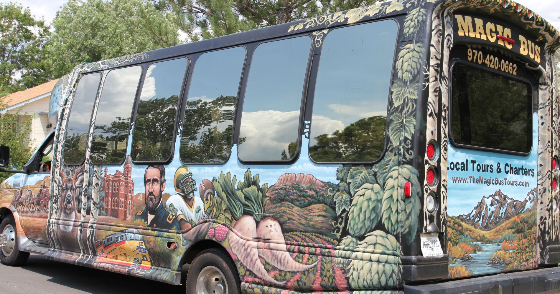 Craft Brews Bus Colorado Tinggly Experience Gifts
