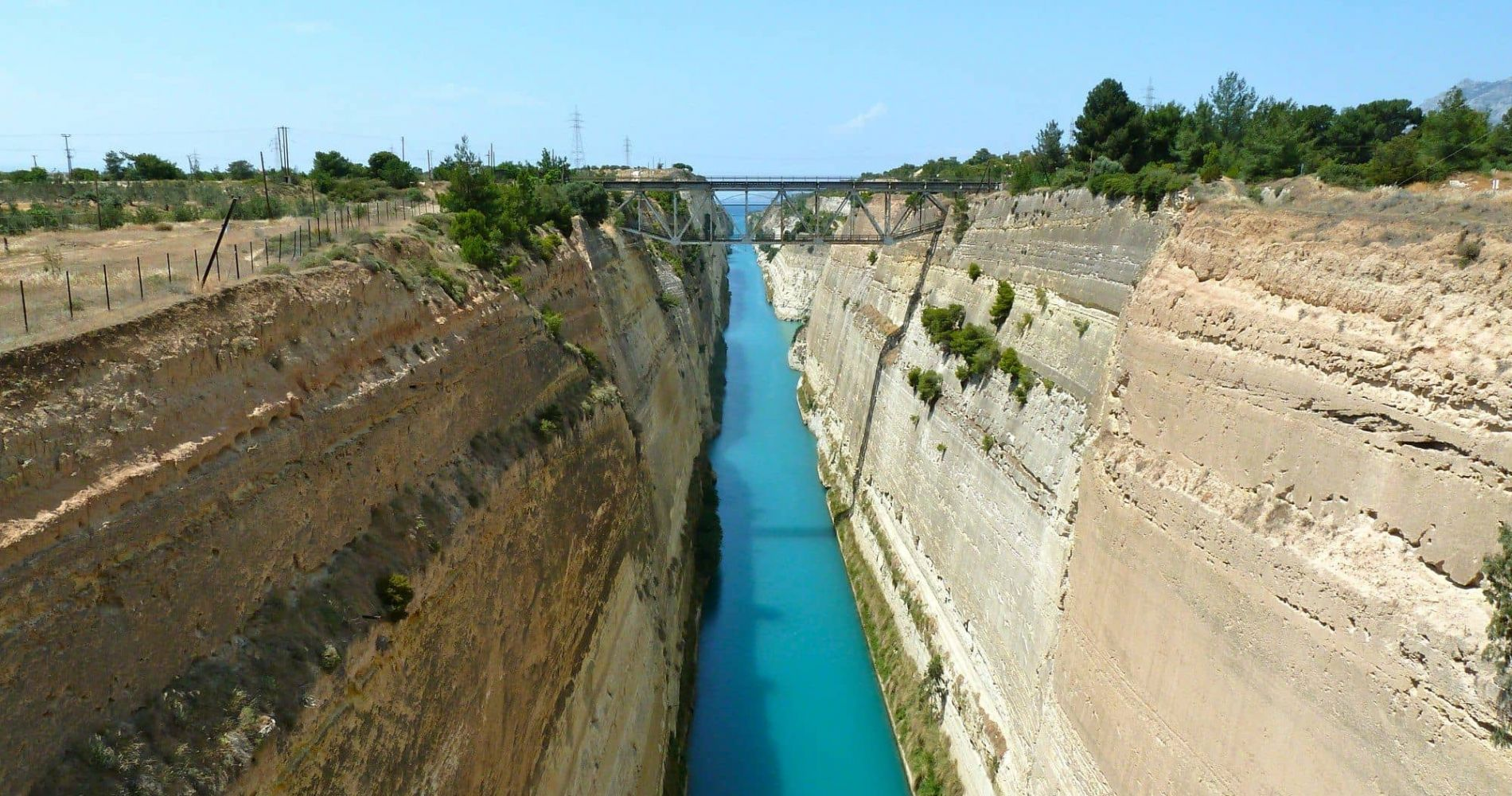 Thrilling  Bungee Jump in Corinth Canal in Greece
