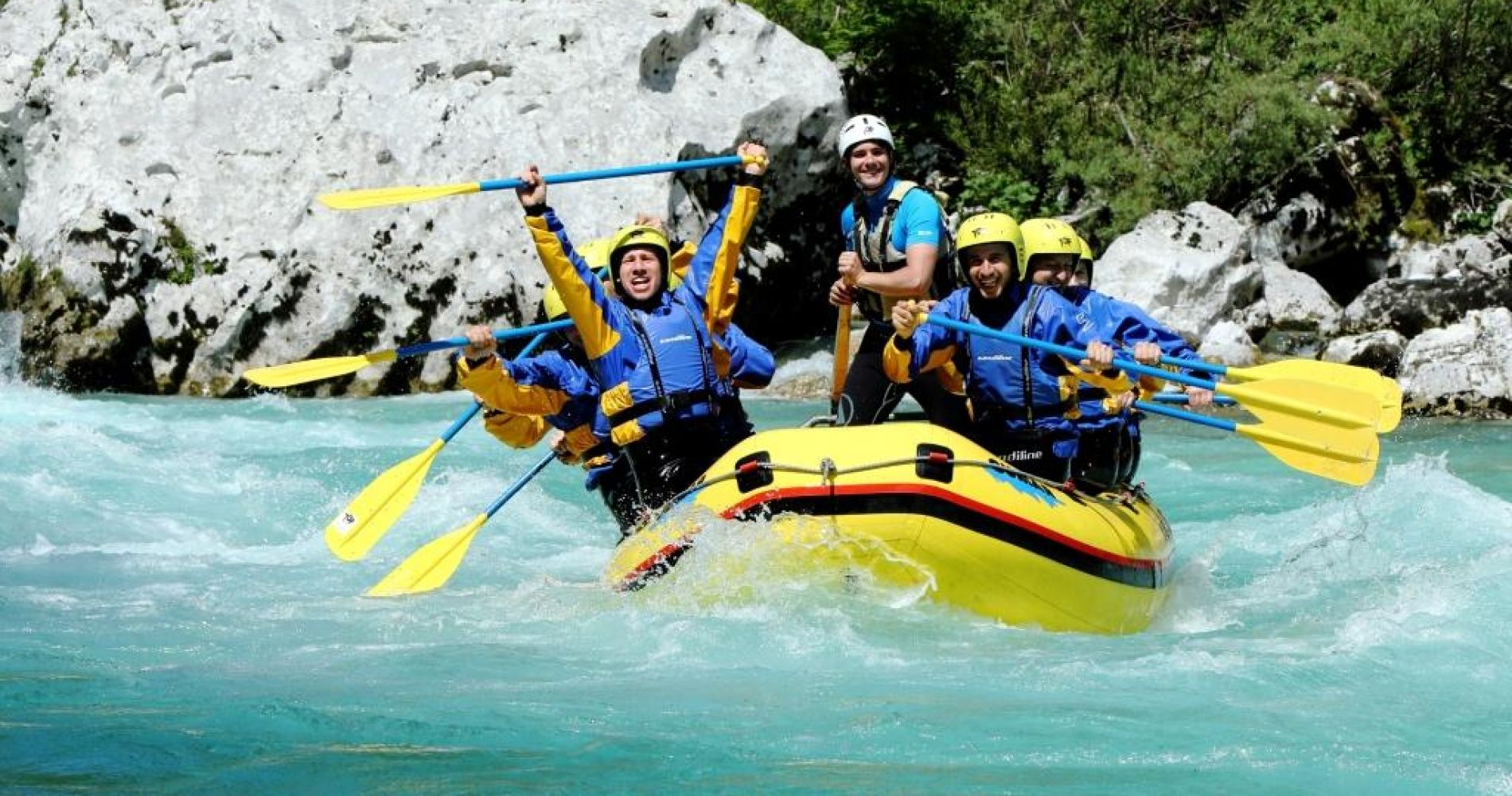 Rafting Soca River Slovenia tinggly experience gift