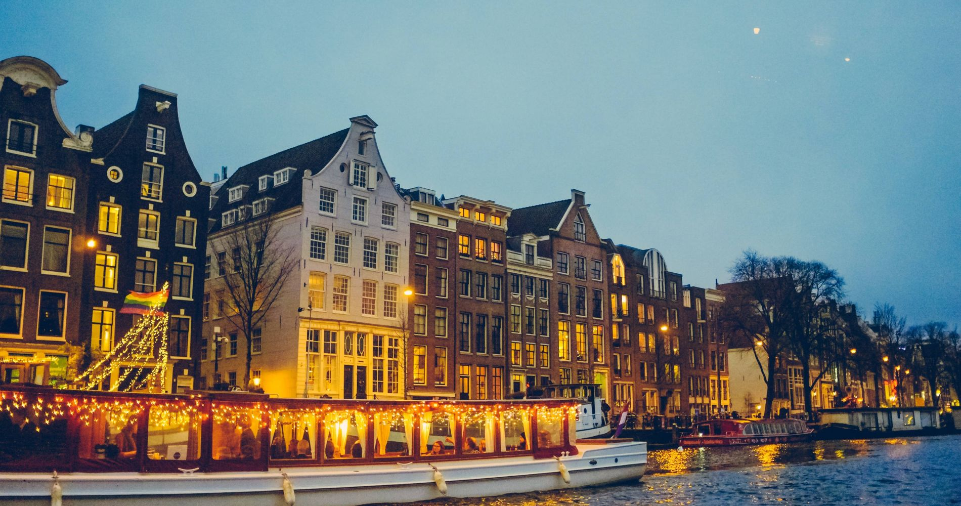Candlelight Cruise in Amsterdam For Two