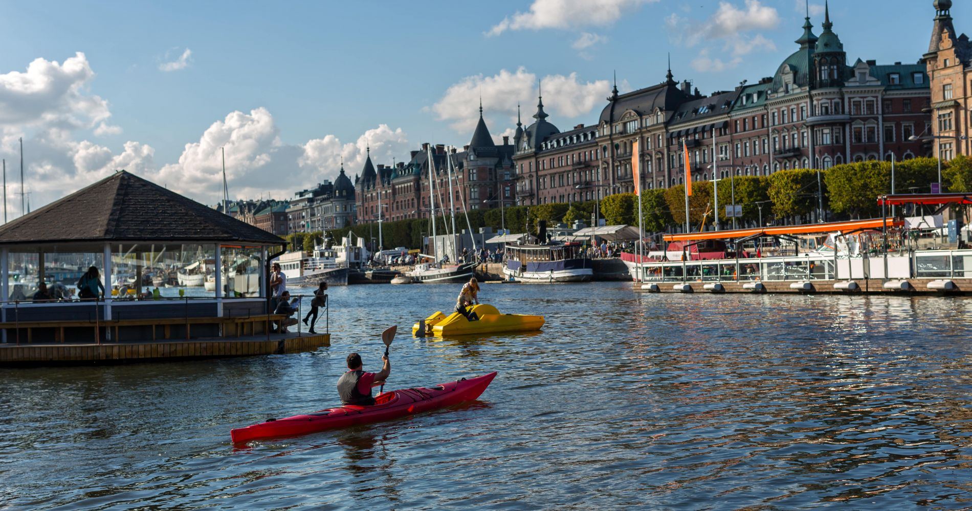 Kayaking Tour in Stockholm for Two