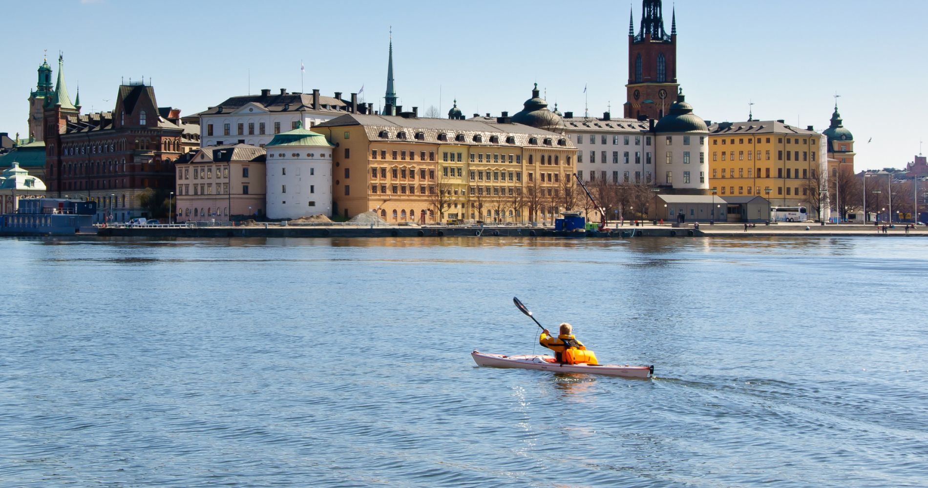 Kayaking tour Stockholm Tinggly Experience Gifts