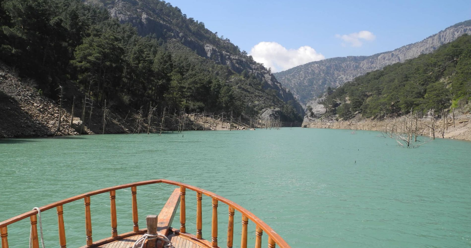 Green Canyon Boat Experience in Turkey