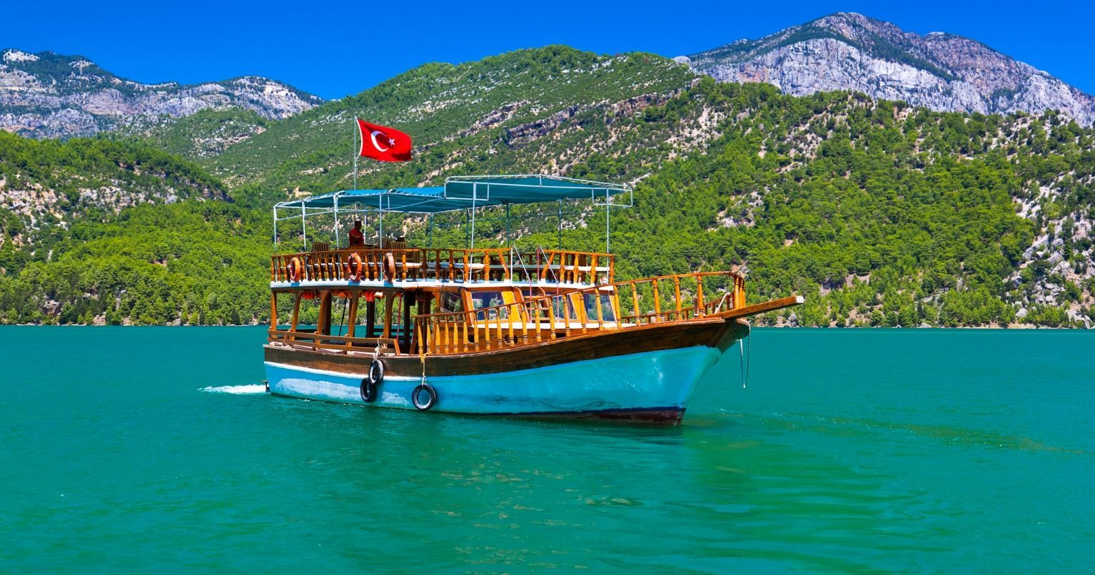 Green Canyon Boat Turkey Tinggly Experience Gifts