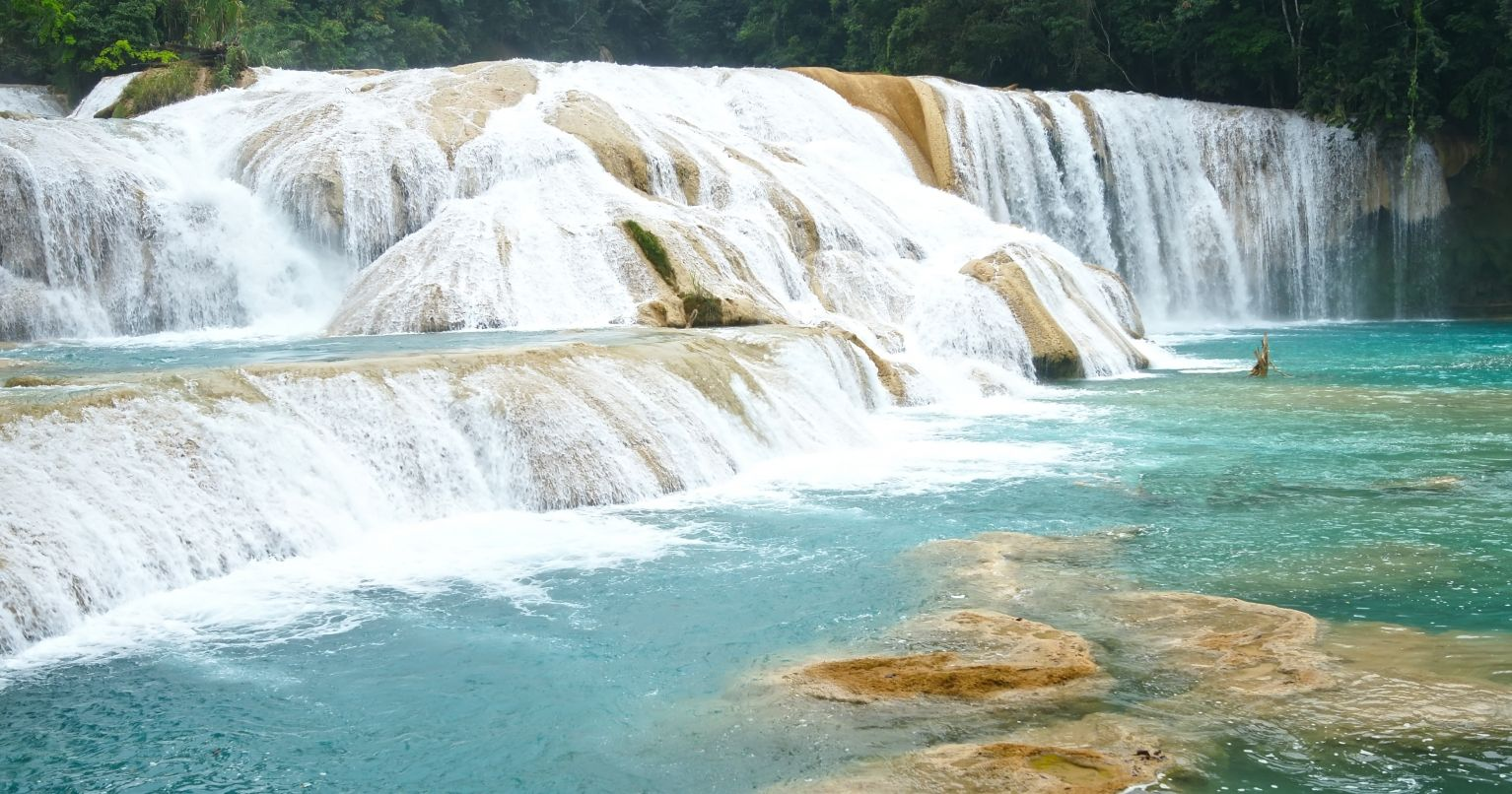 Day Agua Azul & Palenque Ruins Mexico Tinggly Experience Gifts