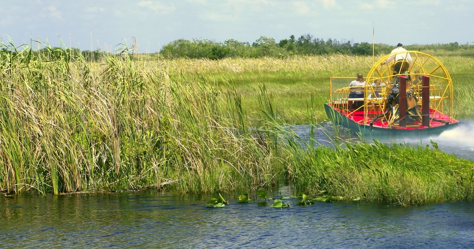 St. John's River Airboat Safari Ride Florida Tinggly Experience Gifts