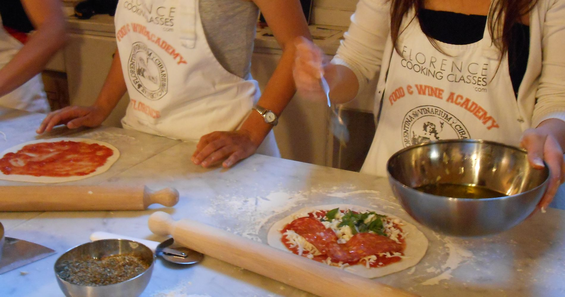Pizza and Gelato Making Florence Tinggly Experience Gifts