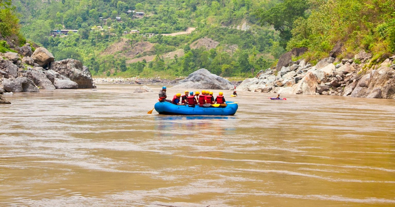 Extreme White Water Rafting Nepal Tinggly Experience Gifts