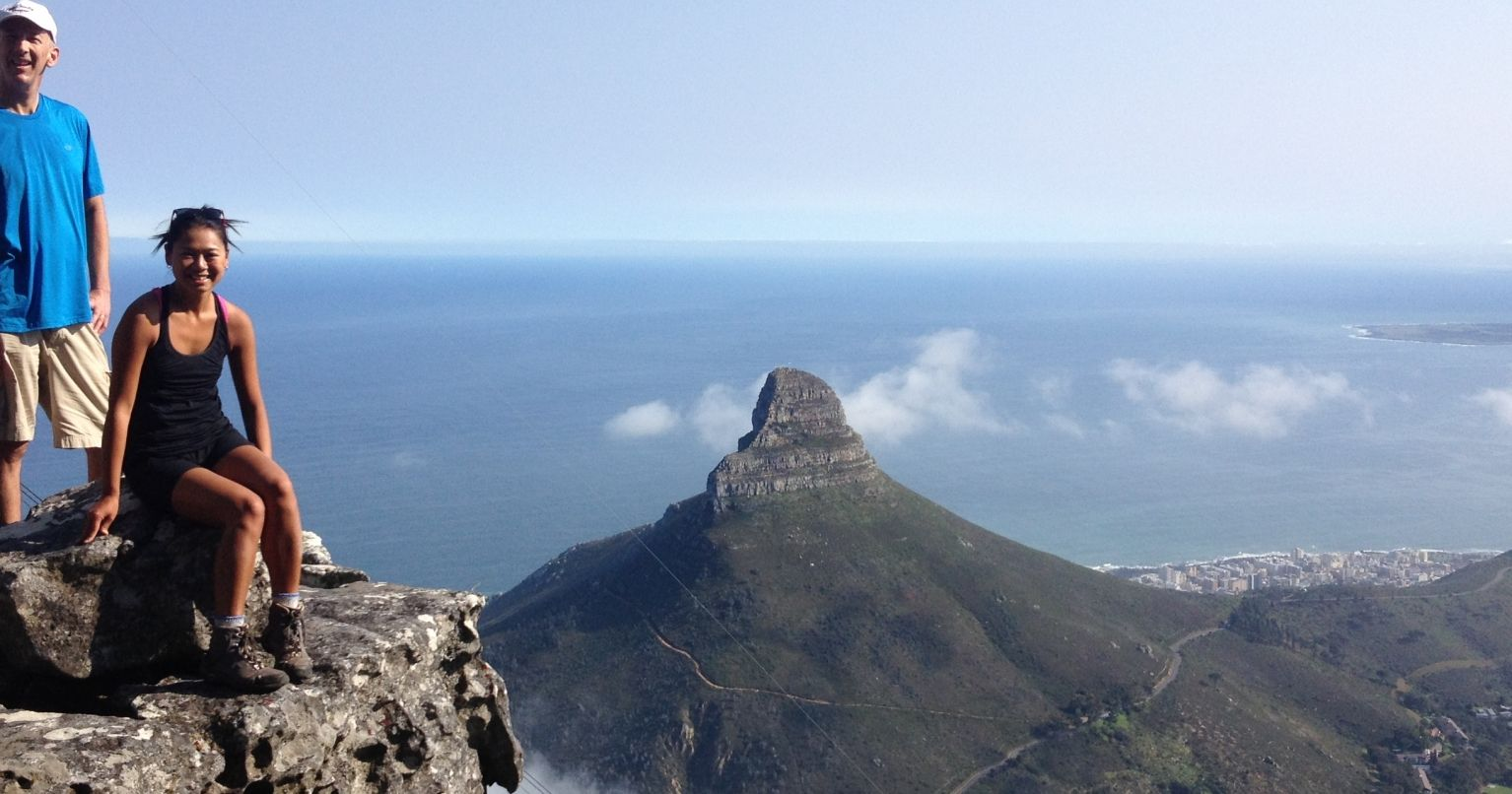 Table Mountain Hike-India Venster Route Cape Town Tinggly Experience Gifts