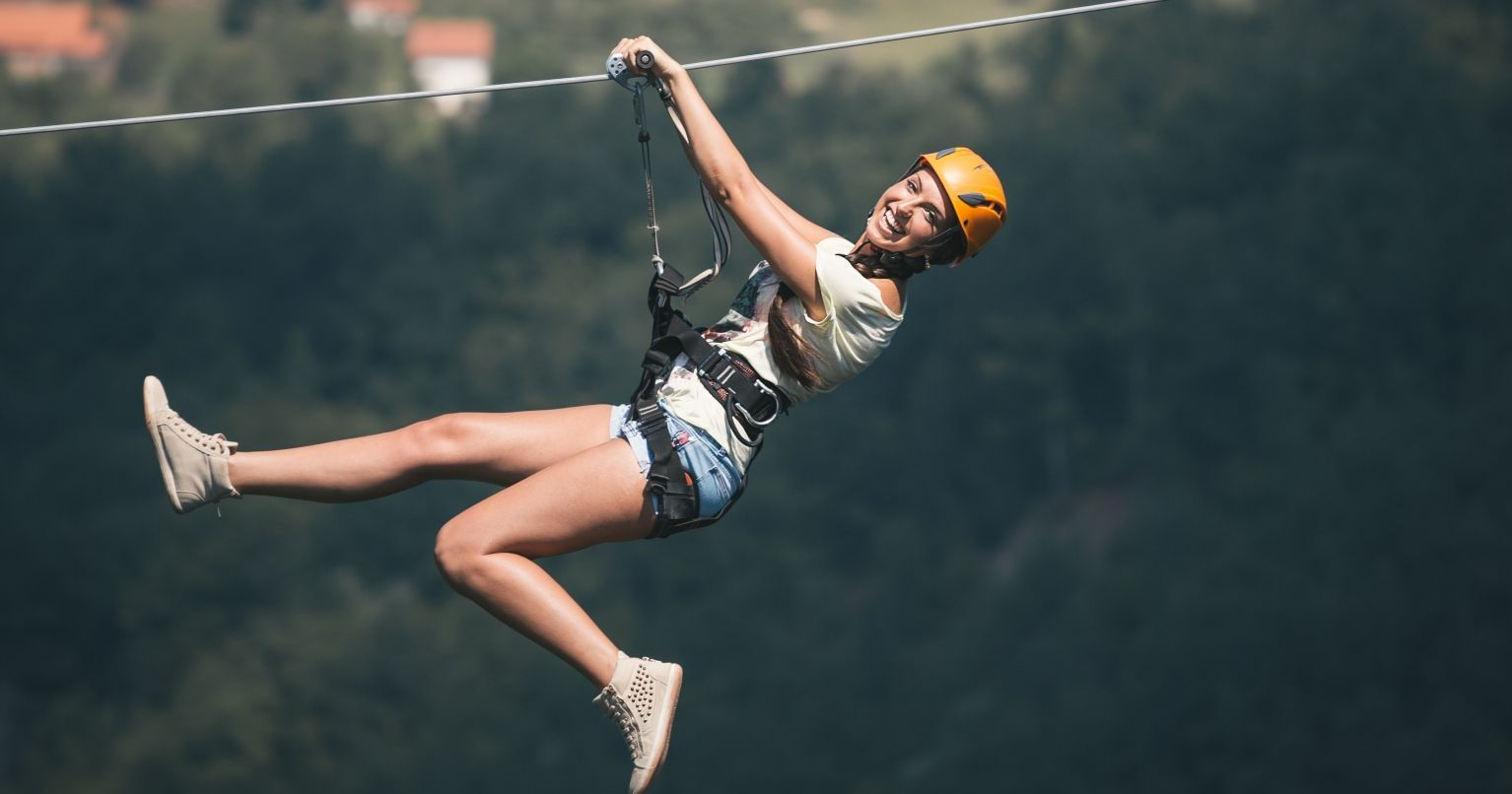 The World's Longest Zipline Flight Nepal Tinggly Experience Gifts