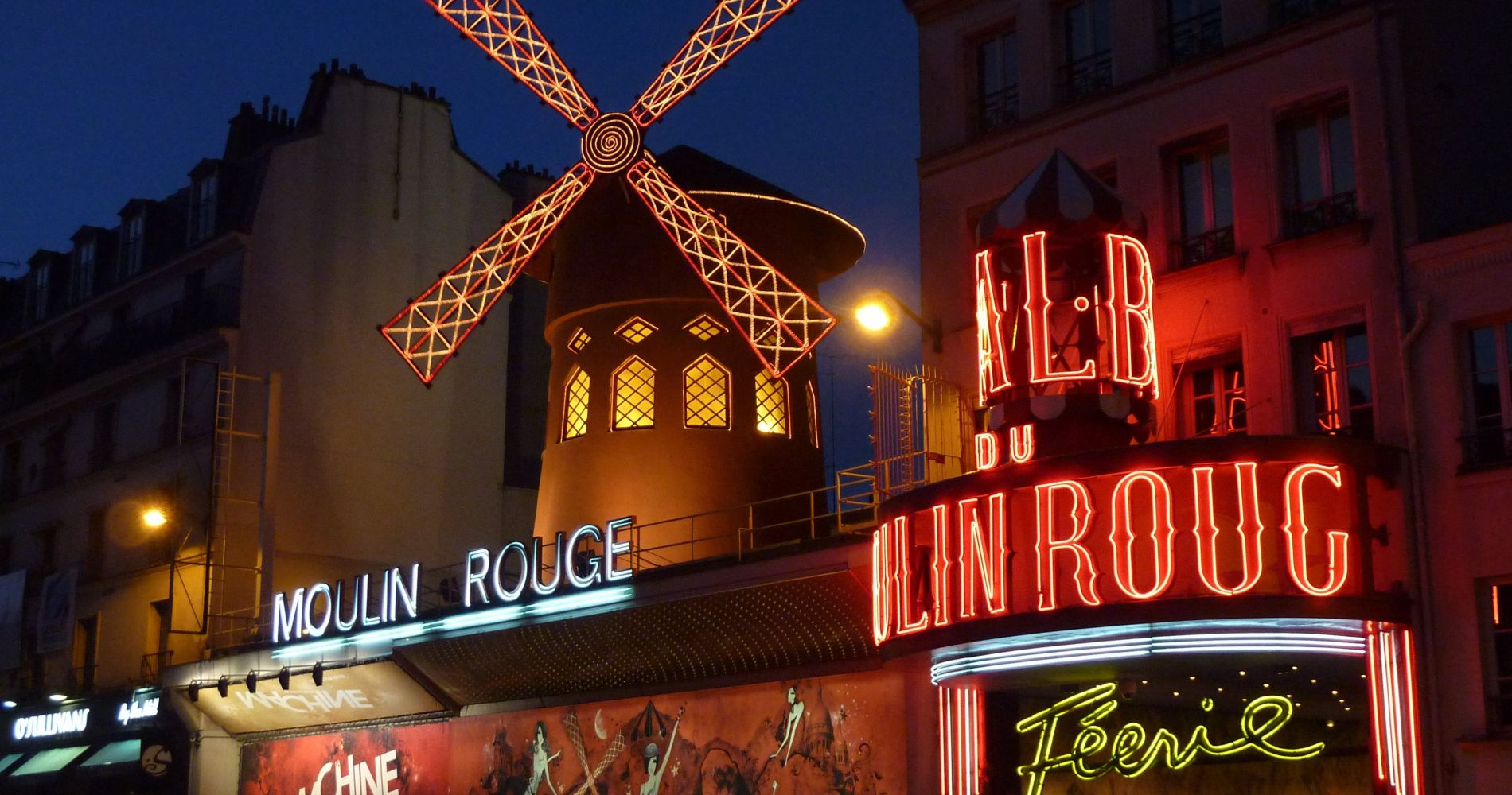 Moulin Rouge Show with Champagne in Paris for Two