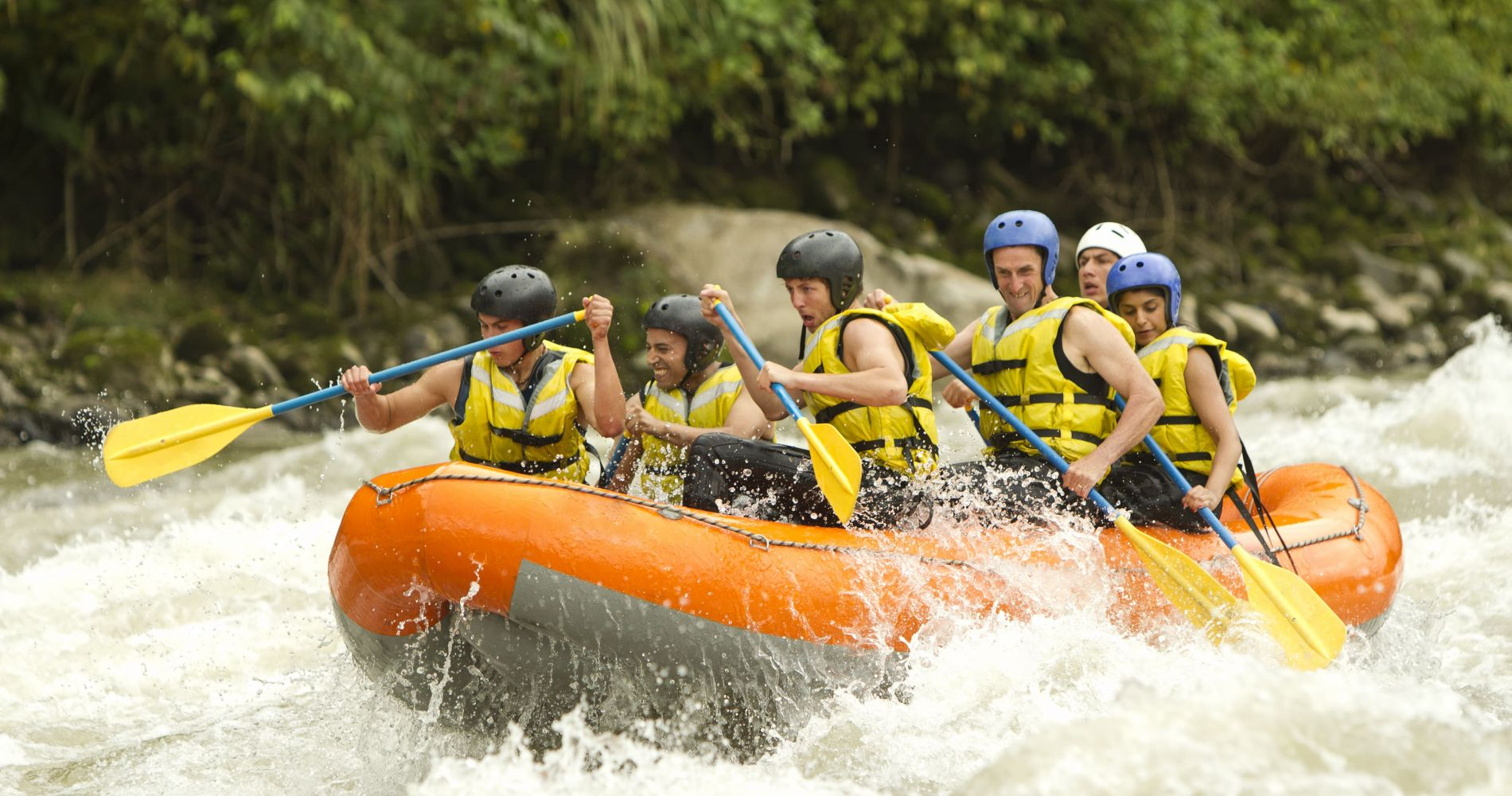 Half-Day Fraser River Rafting in Canada for Two