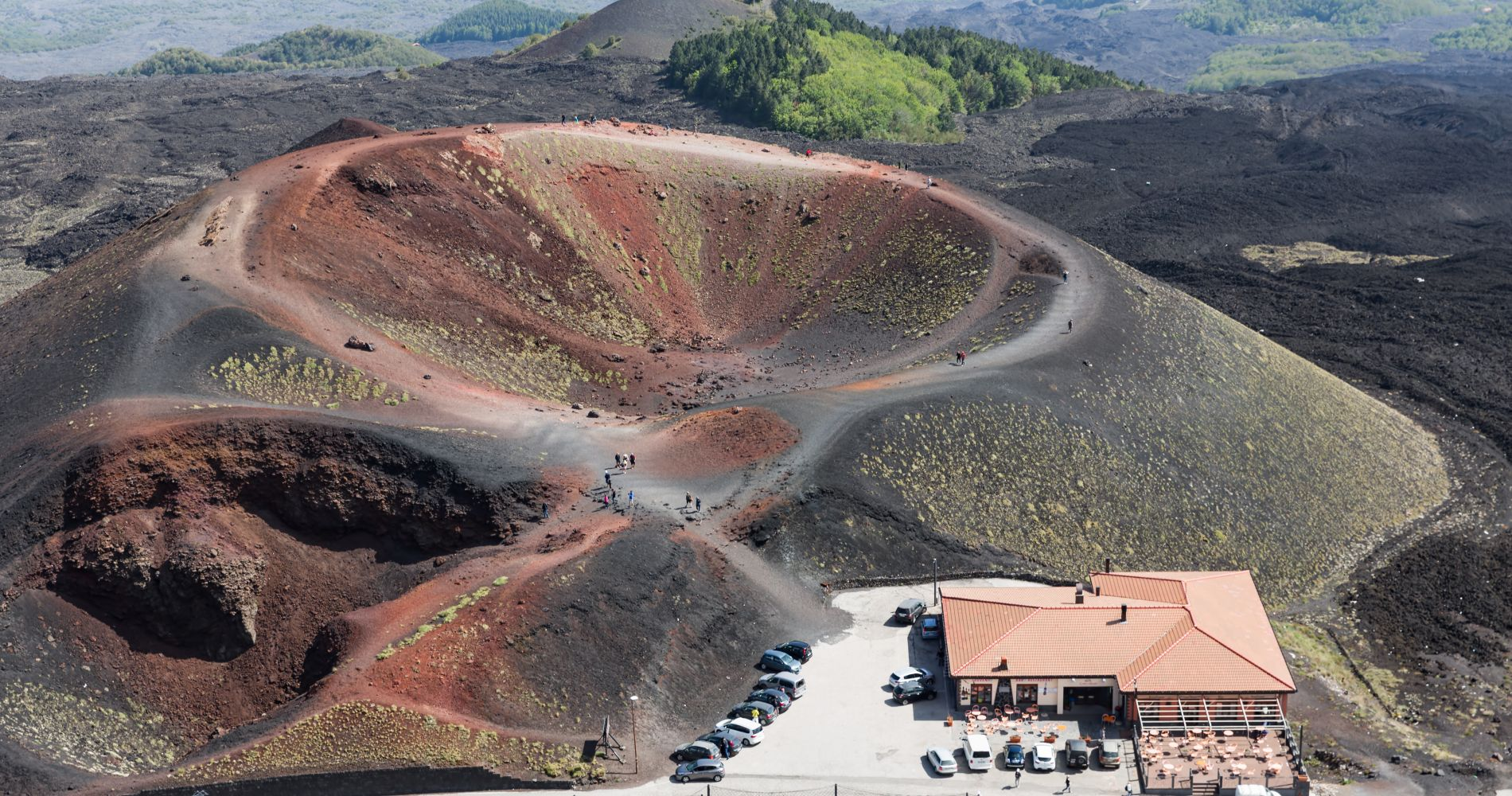 Mount Etna and Wine Experience in Sicily for Two